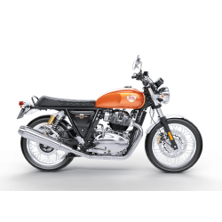 Interceptor 650 Orange Crush