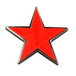 Anstecknadel Roter Stern