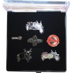 Lapel pin collection box
