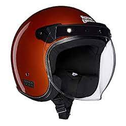 Jet Helm Orange Crush