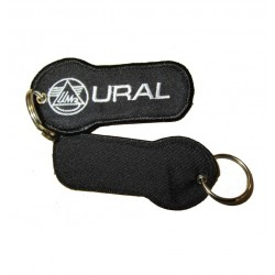 Keychain black with URAL logo