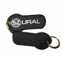 Keychain black with URAL logo