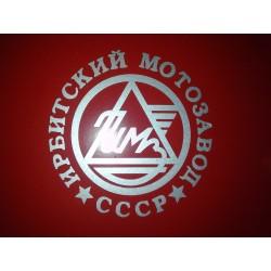 Sticker IMZ logo silver