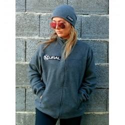 Fleece Sweater Asphalt with...
