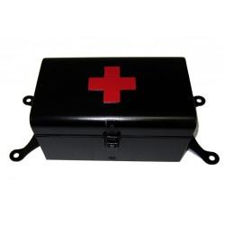 First aid box black-matt...