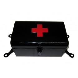 Erste Hilfe Box schwarz mit...