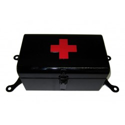 First Aid Box Black with...