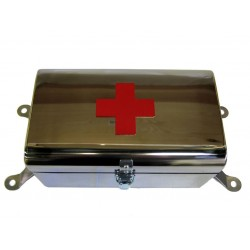 First aid box stainless...