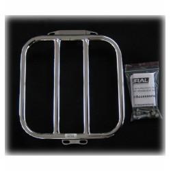 Luggage rack 2/3 seat, chrome