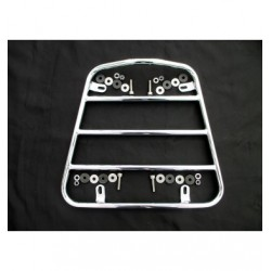 Luggage rack boat front chrome