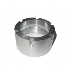 Exhaust nut exhaust pot