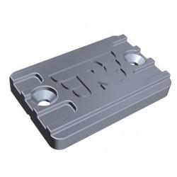 Brake fluid lid silver