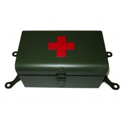 Erste Hilfe Box grün mit...