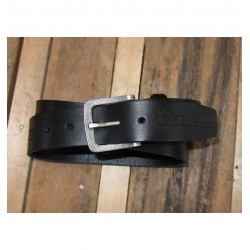 Leather belt URAL branded