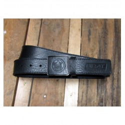 Leather belt URAL Buckle